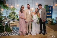 Rose, Rafael Batista, Gabriela Guedes e Eliseu Batista