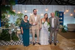 Salete Pinho, Rafael Batista, Gabriela Guedes e Joaquim Pinho