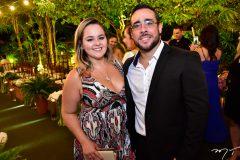 Ana Michele e Pablo Santis