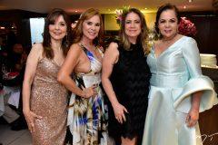 Carmen Inês, Jane Joaçaba, Margareth Leal e Fernanda Laprovitera