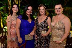 Graça Façanha, Tatiane Castro, Gorete Gurgel e Fabiana Galvão