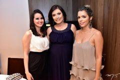 Larisse Cruz, Priscila Ribeiro e Marne Bevilaqua