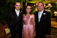 Pedro Felipe, Didida e Deusmar Barbalho