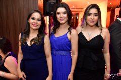 Thalita Maia, Livia Costa Lima e Eveline Aragão