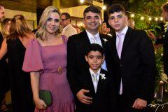 Thamara Barbalho, Thiago Danta e Theo Farias