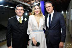 Alexandre Pereira, Onelia e Camilo Santana