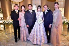 Alexandre e Isabel, Alexandre  Pereira, Rayssa, Fernando e Adriana Cavalcante