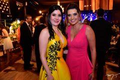 Lia Linhares e Marcia Travessoni
