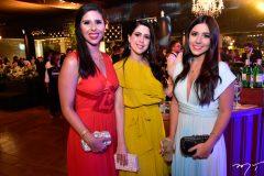 Natalia Medeiros, Lorena Linhares e Beatriz Ramalho