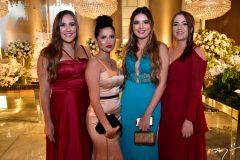Paola Studart, Lara Tavares, Larissa Pontes e Marina Noroes