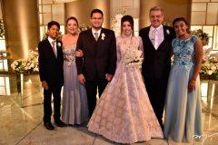Rafael e Alda Carvalho, Alexandre Pereira, Larissa Cavalcante, Ricardo Pereira e Ana Carvalho