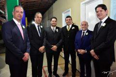 Regis Medeiros, Camilo Santana, Alexandre e Alexandre Pereira, Roberto Claudio e Cid Gomes