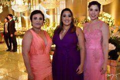 Socorro Figueredo, Lorena Rocha e Erika Dauer