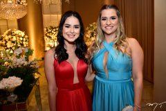 Thais Santana e Amanda Fortes