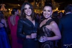 Elane Alves e Camila Costa