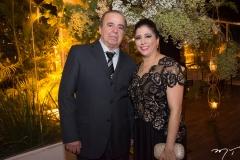 Franzé Cândido e Shayline Aguiar
