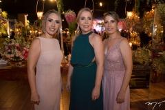 Gena, Rosângela e Débora Aguiar