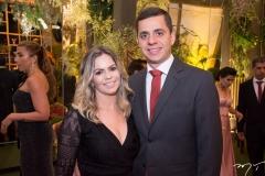 Hiana Aguiar e Alberto Junior