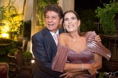 Jacaúna Aguiar e Sandra Osterno