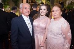 José Cleyton, Ana Maria e Rita Helena Osterno