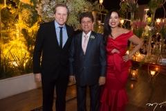 Luiz Ricardo Martan, Jacaúna Aguiar e Ana Paula Martan