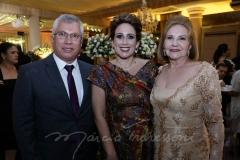 Ana Flavia Carvalho, Silvio Montenegro e Zulene Bezerra
