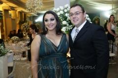 Camila Recamond e Leandro Lopes
