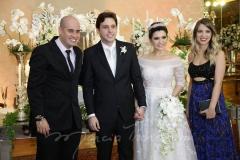 Carlos Maçude, Meton Neto , Thais Benevides  e Mayara Sousa