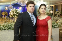 Emilio Junior e Rozeline Recamond