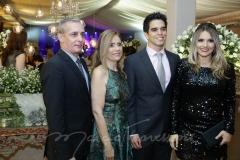 Jairo e Almerinda Oliveira e Diego e Analice Pinto