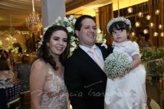 Rafela , Eduardo e Maria Eduarda Vasconcelos