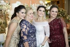 Tércia Benevides, Auja Barroso, Thais e Fabiana Benevides
