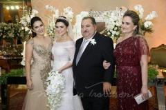Tércia, Thais, Djalma e Fabiana Benevides