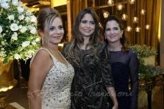 Vera Passos , Raissa Lobo e Adriana Bezerra