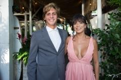 Eduardo Helery e Vanessa Amorim