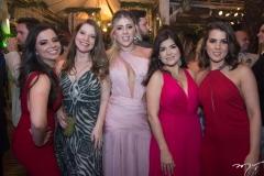 Marina Feitosa, Helena Teófilo, Bruna Martins, Clara Feitosa e Lara Marques
