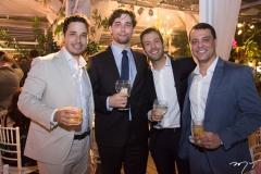 Mauro Sampaio, Arnaldo Bezerra, Veberg Nunes e Frederico Bloretor