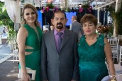 Nayara Bezerra, Edvan e Liduina Carneiro