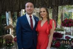 Vicente Neto e Bruna Pierezan