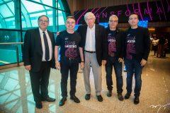 Paulo Vicente, Valdemar  Barros, Georges Blanc, Ricardo Siqueira e Gleidson Sousa