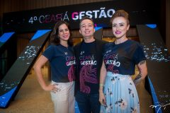 Renata Gurgel, Gleidson Sousa e Camila Bati