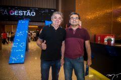 Sebastião Dantas e Silvio Santos