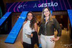 Thaisa Garcia e Cintia Sampaio