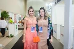 Amanda Laís e Tereza Raquel