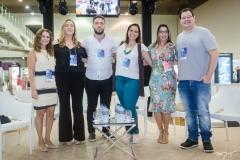Ana Maria Castelo, Ana Luiza Ximenes, Renan Ximenes, Karol Mota, Daniele Caldas e Paulo Rabelo