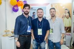 Luiz Pires, Pablo Padilha e Djan Gondim