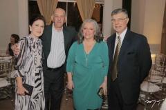 Alda Ribeiro, Milton Ribeiro, Eleny Nutte e Itamar Rodrigues-da-Silva