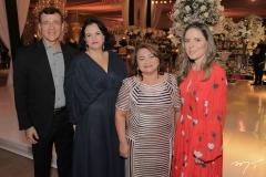 João e Débora Matias, Maria Vital e Águeda Muniz