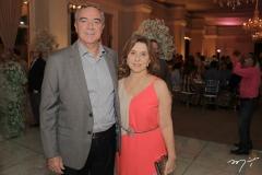 Luiz Menezes e Regina Benevides