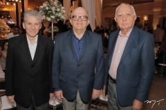 Pádua Lopes, Fernando Ximenes e Edison Silva